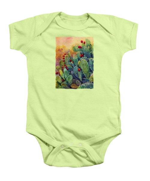 Desert Gems 2 Baby Onesie by Hailey E Herrera