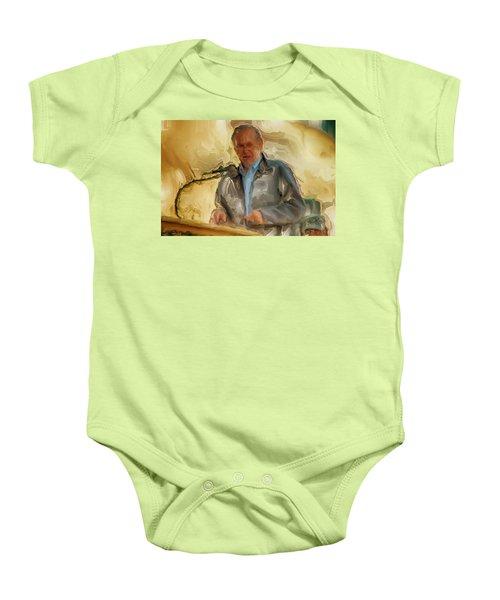 Donald Rumsfeld Baby Onesie by Brian Reaves