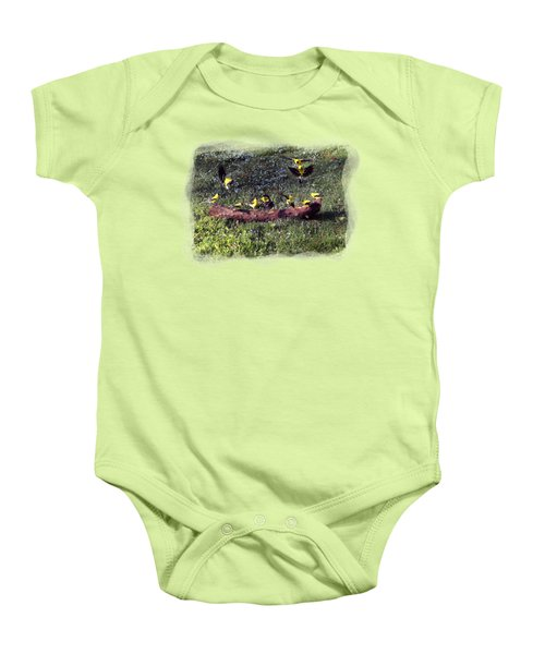 Goldfinch Convention Baby Onesie by Nick Kloepping