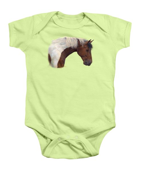 Intrigued Baby Onesie by Lucie Bilodeau