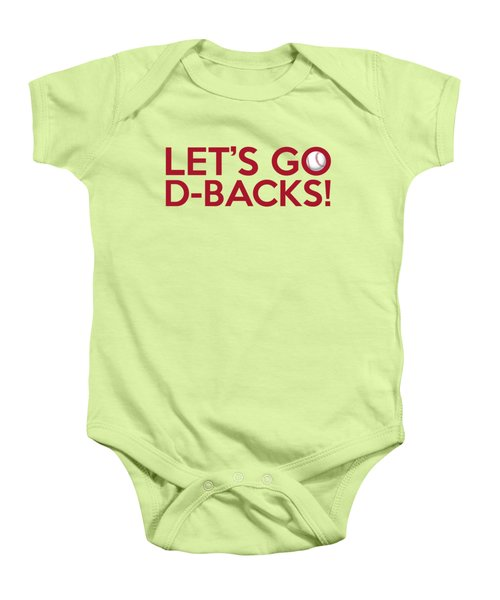 Let's Go D-backs Baby Onesie by Florian Rodarte