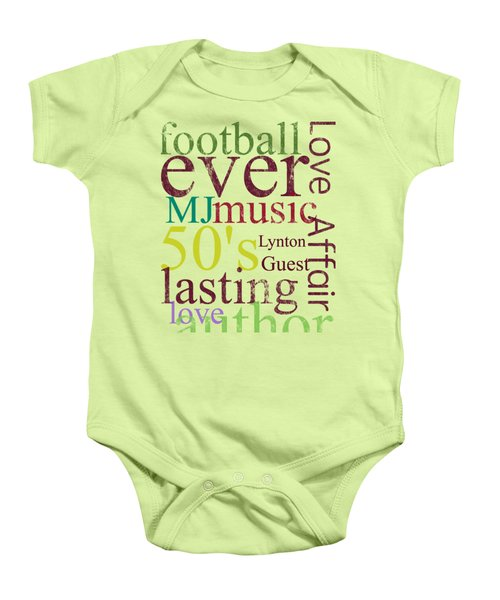 Lynton Guest Baby Onesie by D Francis