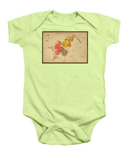 Perseus And Caput Medusae Baby Onesie by Science Source