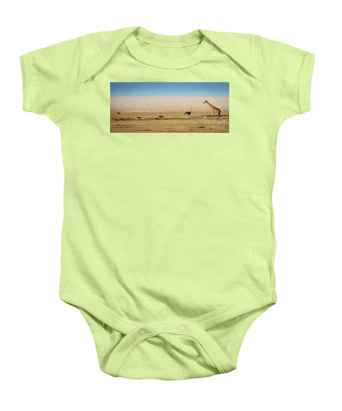 Savanna Life Baby Onesie by Inge Johnsson