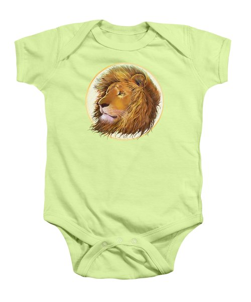 The One True King - Color Baby Onesie by J L Meadows