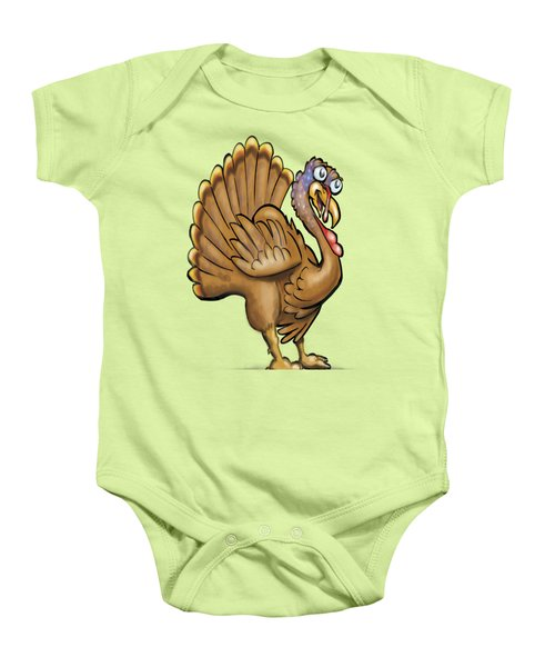 Turkey Baby Onesie by Kevin Middleton
