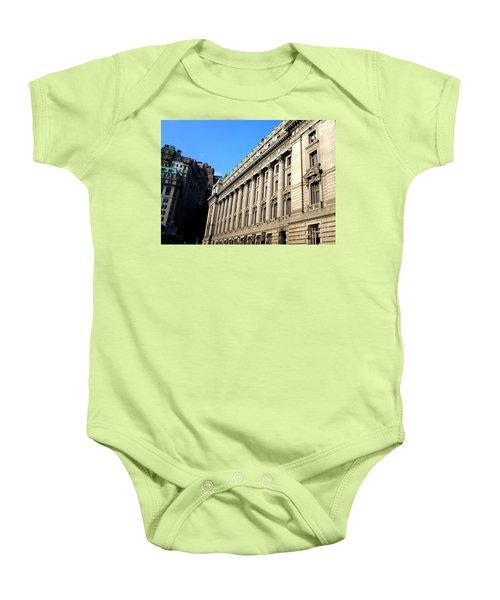 U S Custom House 1 Baby Onesie by Randall Weidner