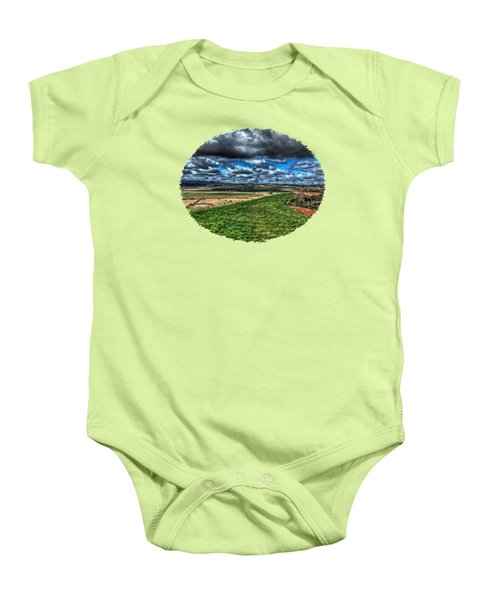 Van Duzer Vineyards View Baby Onesie by Thom Zehrfeld