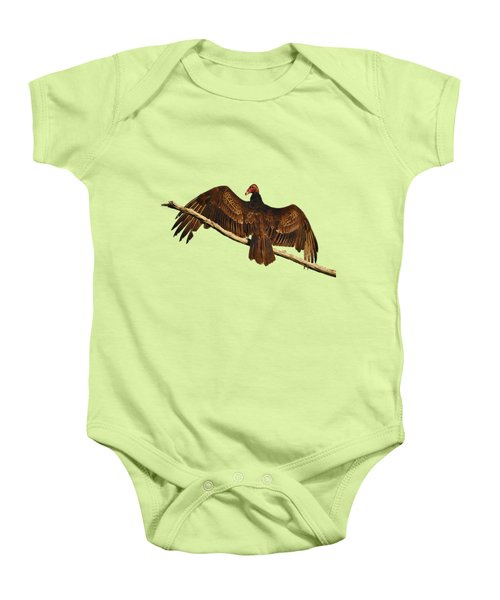 Vivid Vulture .png Baby Onesie by Al Powell Photography USA