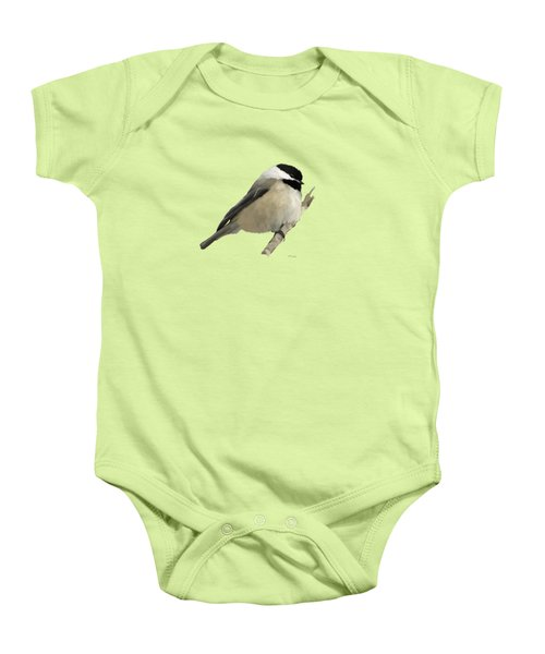 Willow Tit Baby Onesie by Bamalam  Photography