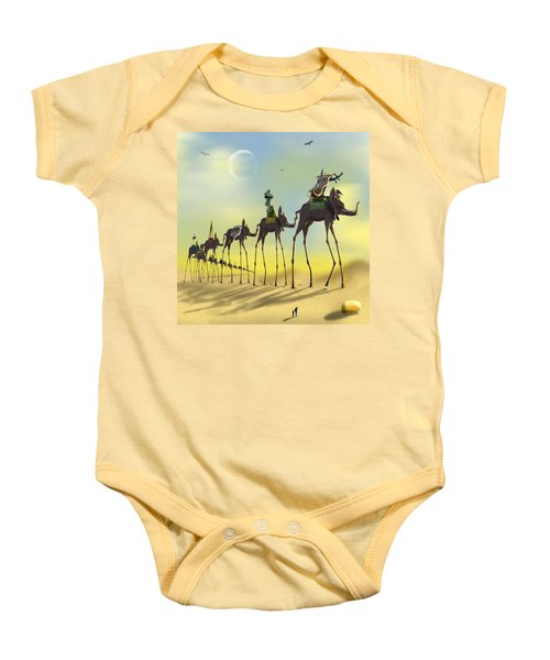 On The Move Baby Onesie by Mike McGlothlen