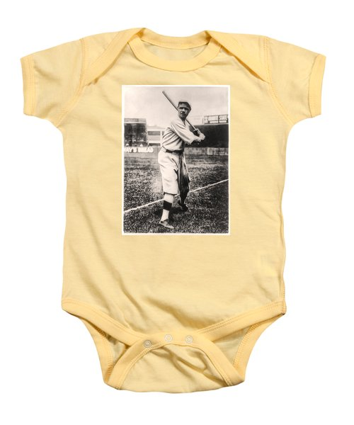 Babe Ruth Baby Onesie by Digital Reproductions