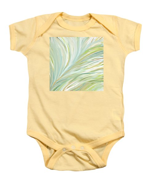 Blooming Grass Baby Onesie by Lourry Legarde