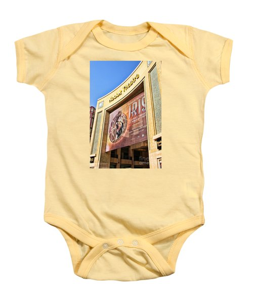 Kodak Theatre Baby Onesie by Mariola Bitner