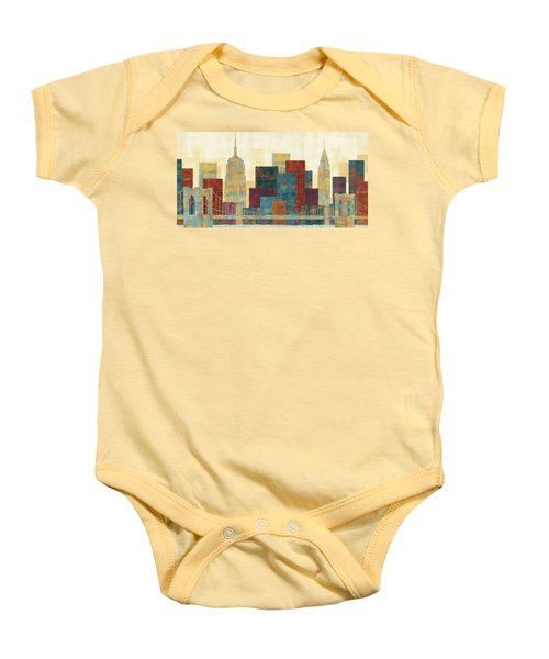 Majestic City Baby Onesie by Michael Mullan