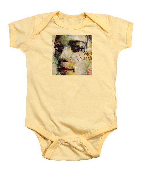 Man In The Mirror Baby Onesie by Paul Lovering