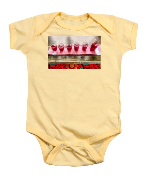 Putting Up Preserves Baby Onesie by Michelle Calkins