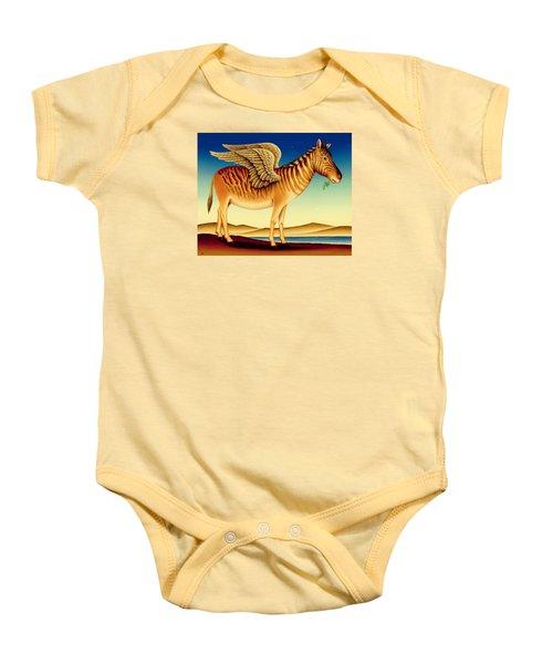 Quagga Baby Onesie by Frances Broomfield