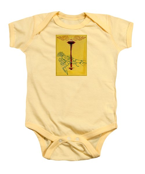 Seattle Calling Baby Onesie by Sandstone Inc