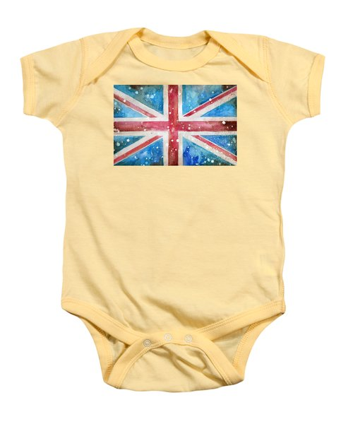 Union Jack Baby Onesie by Sean Parnell
