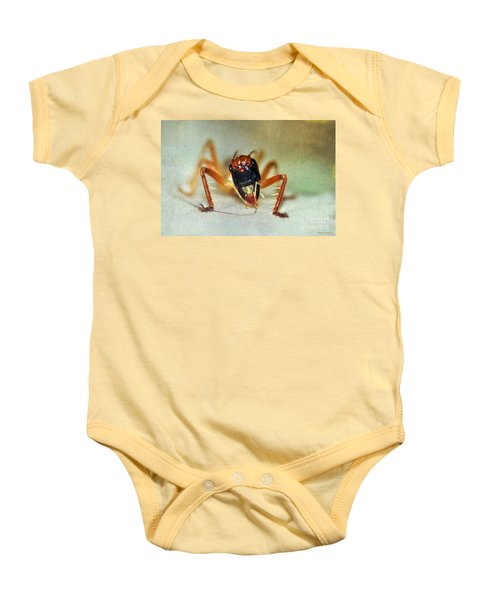 Jiminy Cricket 2 Baby Onesie by Kaye Menner