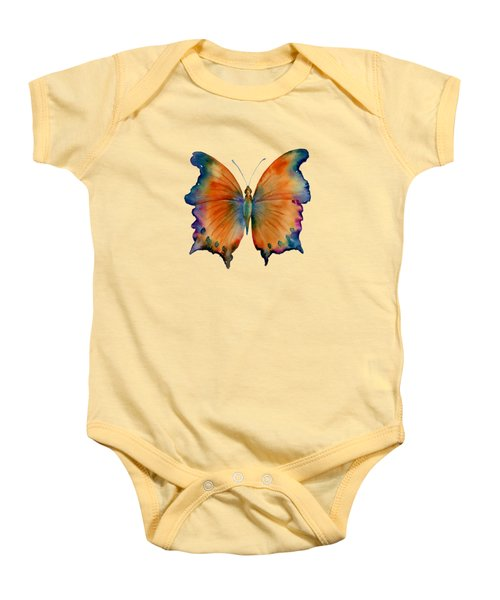 1 Wizard Butterfly Baby Onesie by Amy Kirkpatrick