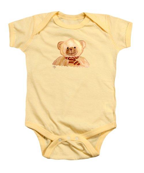 Cuddly Bear Baby Onesie by Angeles M Pomata