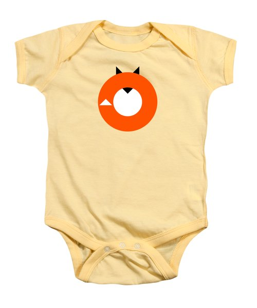 A Most Minimalist Fox Baby Onesie by Nicholas Ely