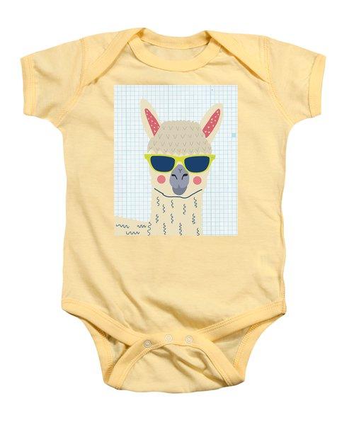 Alpaca Baby Onesie by Nicole Wilson