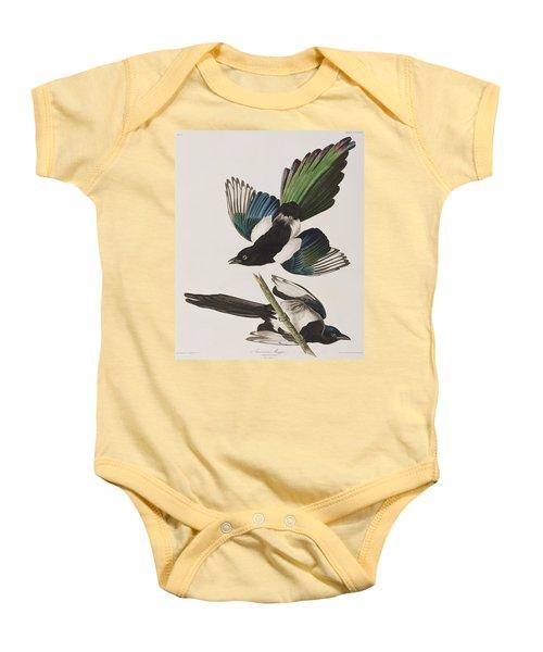 American Magpie Baby Onesie by John James Audubon