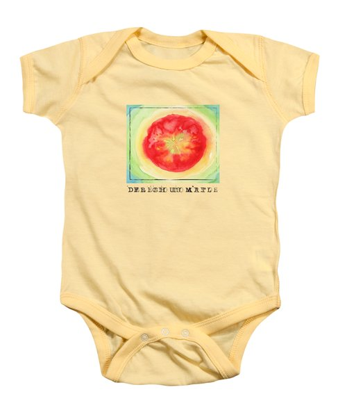 Fresh Tomato Baby Onesie by Kathleen Wong