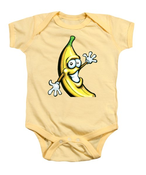 Banana Baby Onesie by Kevin Middleton