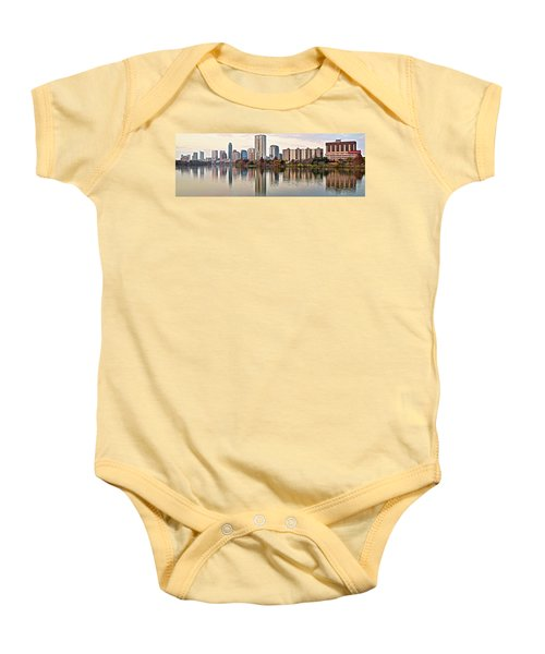 Austin Wide Shot Baby Onesie by Frozen in Time Fine Art Photography