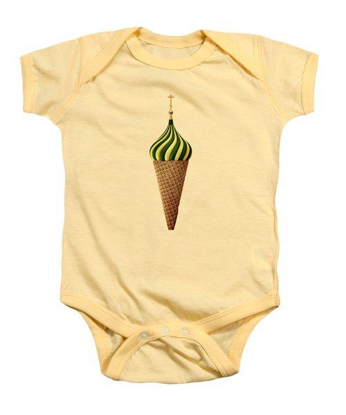 Basil Flavoured Baby Onesie by Nicholas Ely