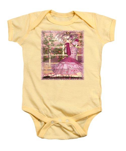 Breath Of Rose Fantasy Elf Baby Onesie by Sharon and Renee Lozen