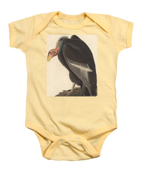 Californian Vulture Baby Onesie by John James Audubon