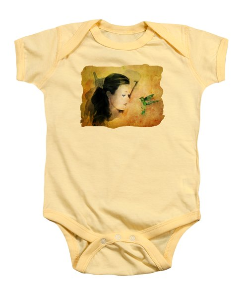Close Encounter Baby Onesie by Terry Fleckney