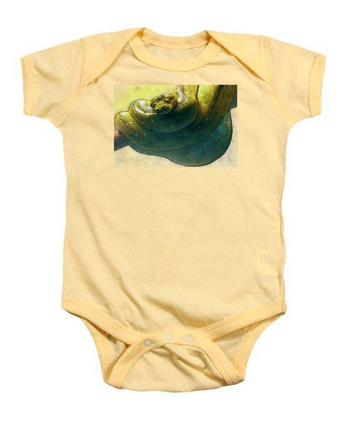Coiled Baby Onesie by Jack Zulli