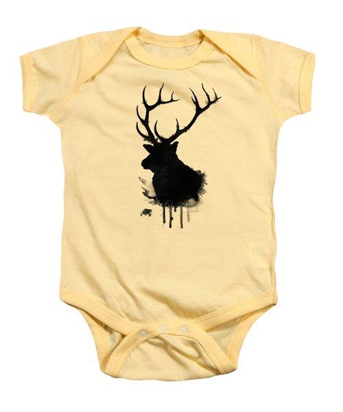 Elk Baby Onesie by Nicklas Gustafsson