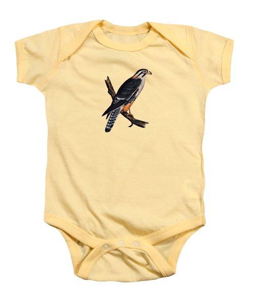 Falcon Aplomado Falcon Baby Onesie by Movie Poster Prints