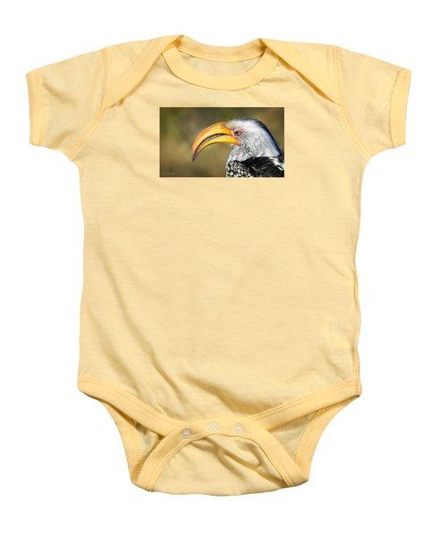 Flying Banana Baby Onesie by Joe Bonita