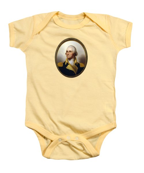 General Washington Baby Onesie by War Is Hell Store