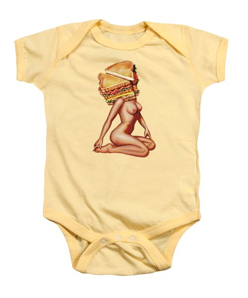 Gentlemen's Club Baby Onesie by Kelly Gilleran