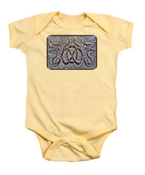 Hidden Dragon Baby Onesie by Ethna Gillespie