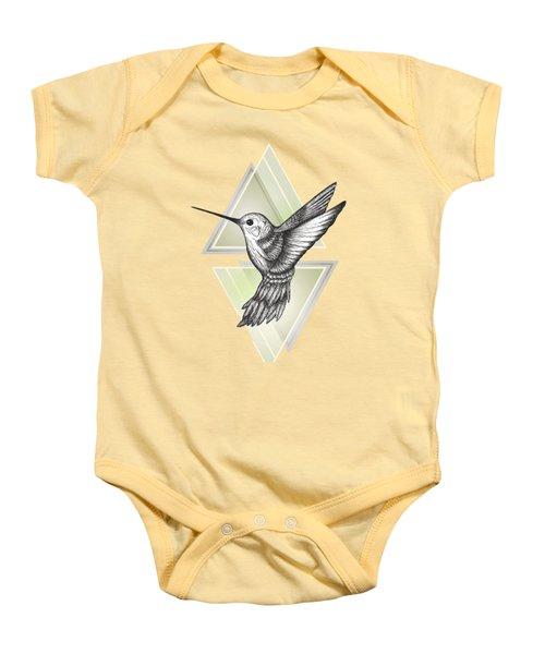Hummingbird Baby Onesie by Barlena