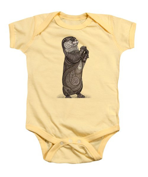 Infatuated Otter Baby Onesie by ZH Field