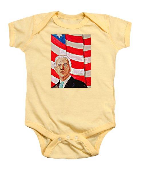Joe Biden 2010 Baby Onesie by Ken Higgins