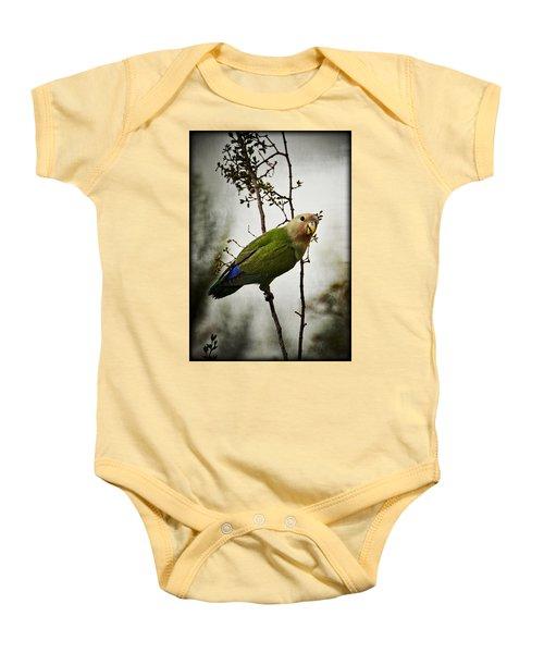 Lovebird  Baby Onesie by Saija  Lehtonen