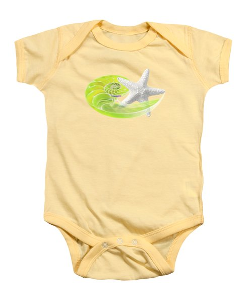 Ocean Fresh Baby Onesie by Gill Billington