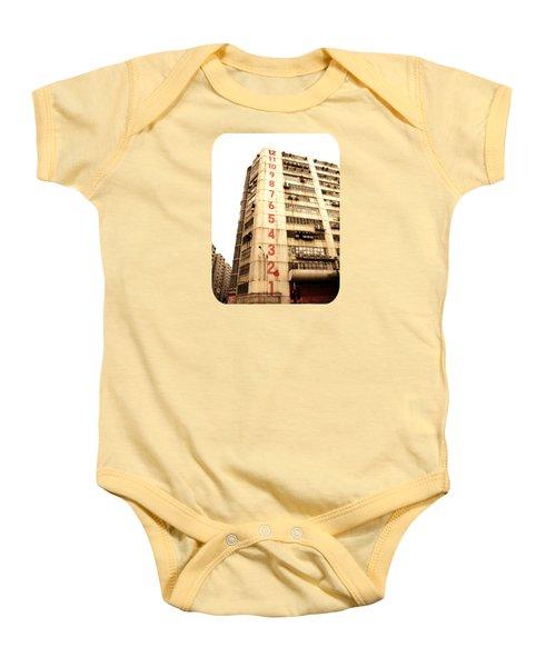 On A Dozen Different Levels Baby Onesie by Ethna Gillespie